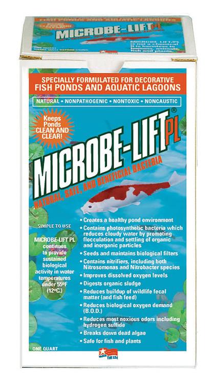 ECL10PLQ Microbe Lift PL Bacteria Quart