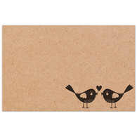 Sweet Addiction gift card gift tag birds