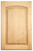 Maple Raised Panel with Arch