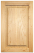 Stained Raised Panel Doors - Maple
