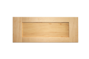 Stained Shaker Drawer Fronts - Oak