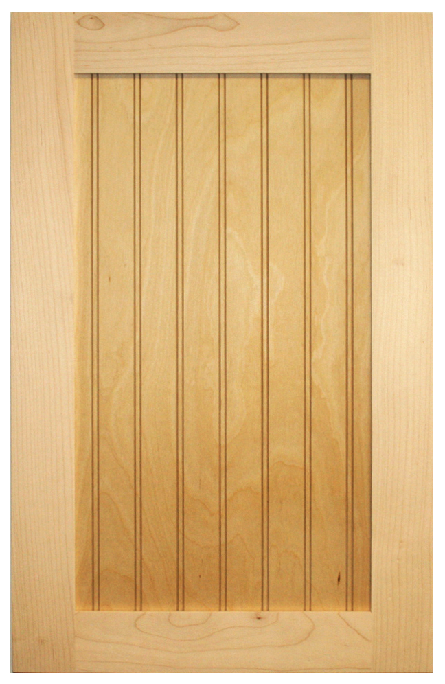 Shaker Beaded Panel Door Oak Cabinet Door World