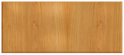 Thermofoil Solid Slab Drawer Fronts -  Honey Maple