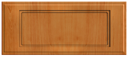 Thermofoil Flat Panel Drawer Fronts -  Pearwood