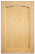 Maple Flat Panel with Arch