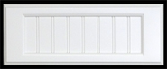 Flat Panel 5 Piece Drawer Fronts Painted
