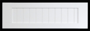 Shaker Beaded  Drawer Fronts Painted