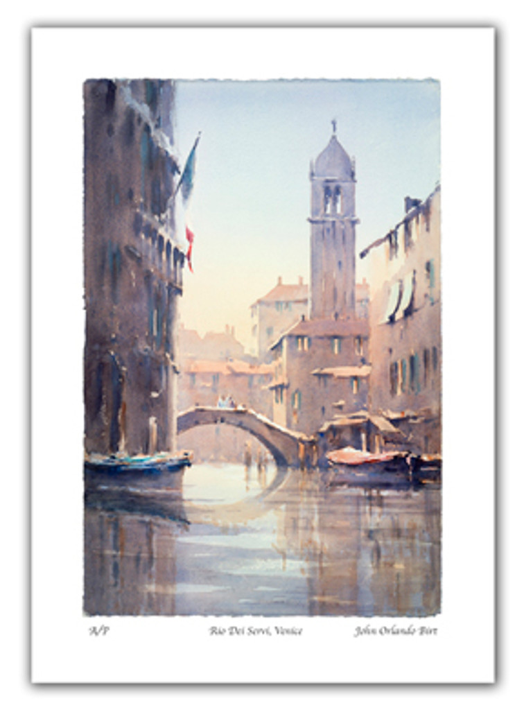 Venice. Limited Edition Print