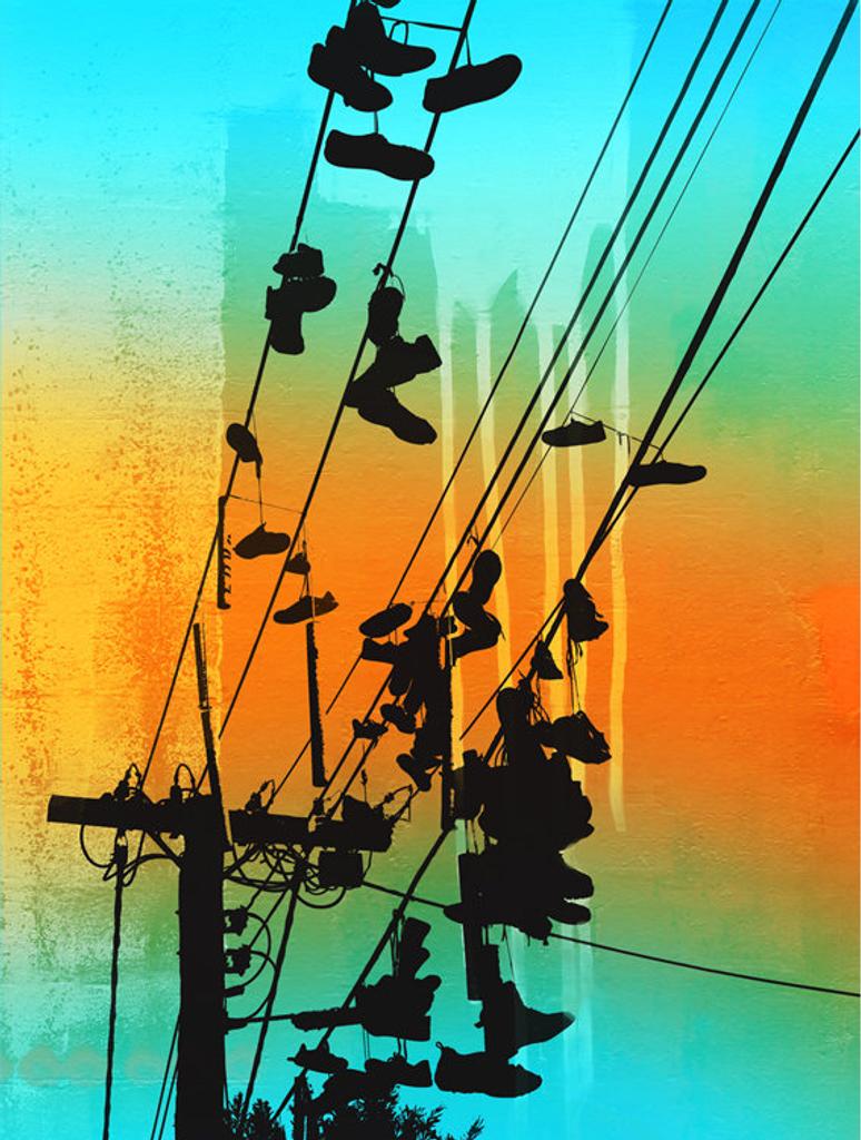 Jan Neil | Shoes On Easy Street (Aqua)