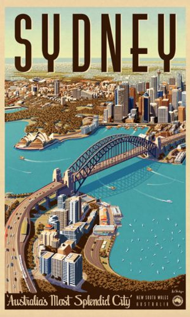 Print Decor | Sydney Splendid City