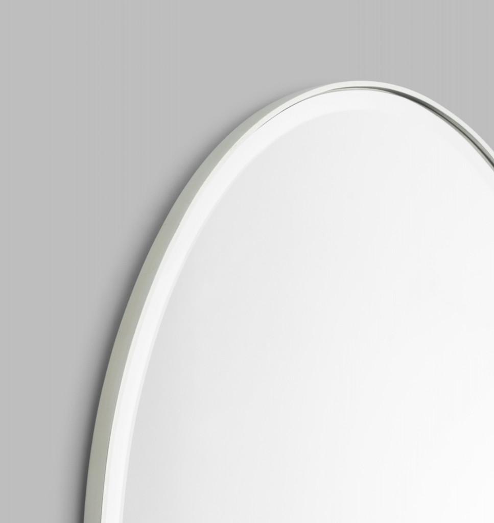 Lolita Oval Mirror, Silver