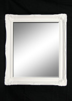 Print Décor - Contessa White Beveled Mirror