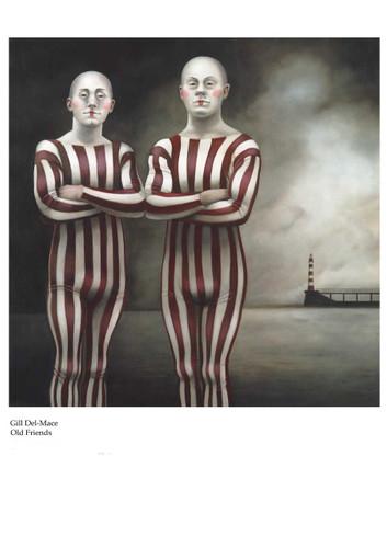 Print Decor Gill Del Mace Old Friends