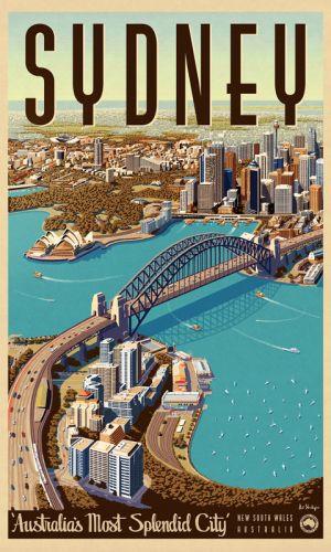 Print Decor   Sydney Splendid City