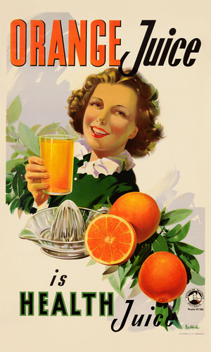 Print Decor | Orange Juice