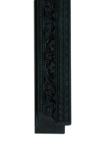 PRINT DECOR | ORNATE BLACK FRAMED MIRROR | MIRROR | Detail