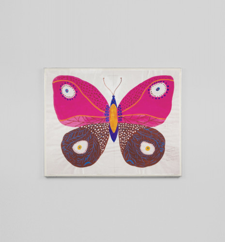 Print Decor | PAPILLON ROSE