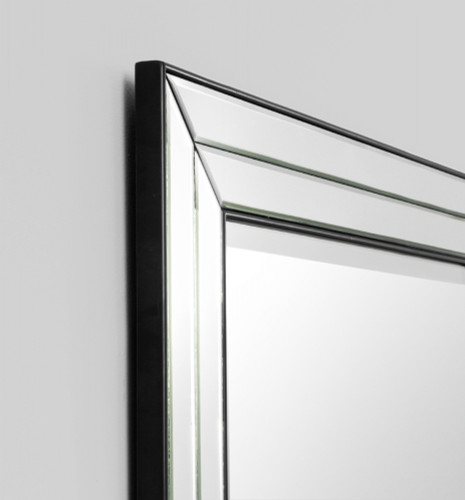 St Kilda Mitred Mirror | Detail | Print Decor