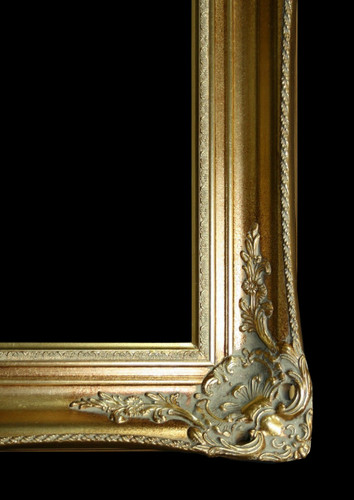 Classic Antique Victorian Frame Gold