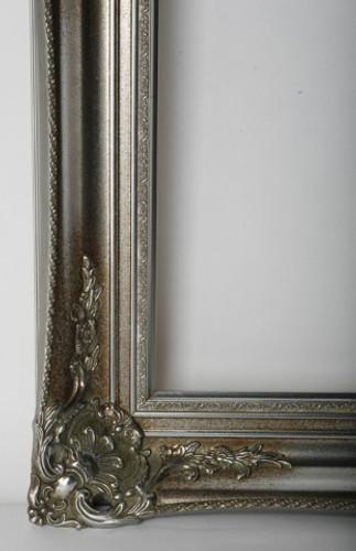 Antique Victorian Frame Silver