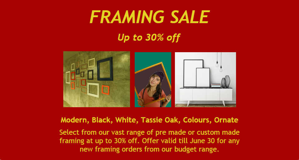 Picture Framing Melbourne, Sale