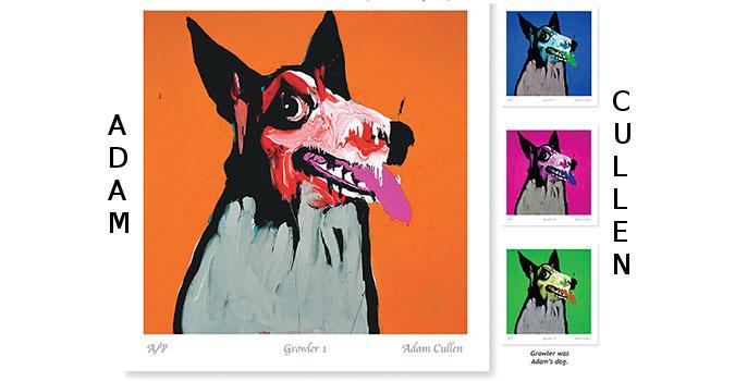 Adam Cullen Print, Art,