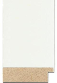 Modern wide white frame, Melbourne framing