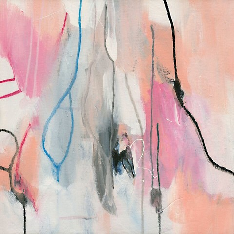 Cotton Candy by abstract modern Melbourne artist at Print Decor