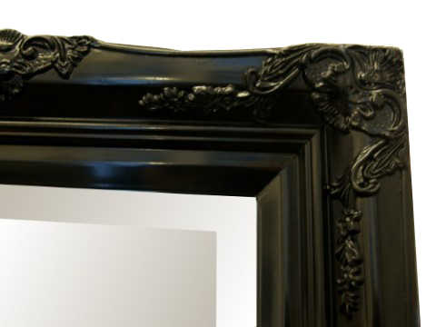 Black Mirror Frames and Mirror Framing