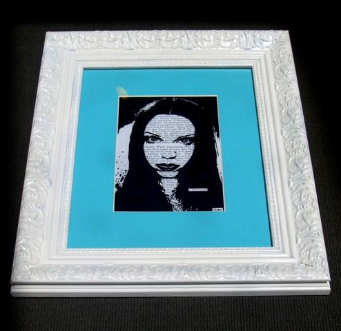 Ornate White Frame-Print Decor Melbourne