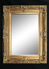 Print Décor - Grand Ornate Gold Beveled Mirror