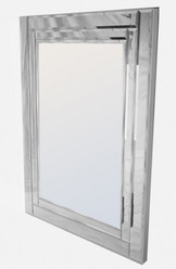 St Kilda Contemporary Frameless Mirror (wide edge)