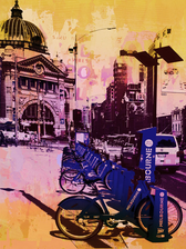 Jan Neil   Bike City (Pink)