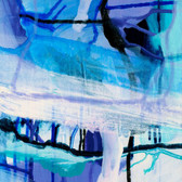 Contemporary local Melbourne art | Violet Viscosity by Nicolle Miller | Print Decor Gallery Malvern