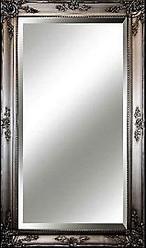Big Ornate Mirror  Silver