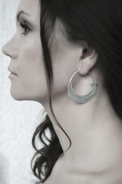 Tuli Silver Earrings