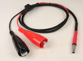 20046L - Power Cable: R10/R8/R7/ 5800/5700/ 4800/4700 to Large Aligator Clips