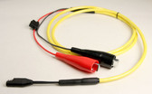 70064m - Power Cable -  SAE to Alligator clips for Battery