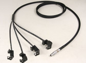 21185m - Quad Camcorder Power cable for 47-4800-57-5800 - 3.5 ft.