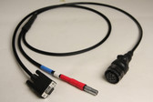70291-L - SiteNet-900 or SNR-900 to Laptop with power - 6 ft.