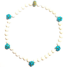 Adair Pearl & Turqoise Necklace