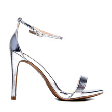 *FEATURED* Gale High Heel Silver Sandal