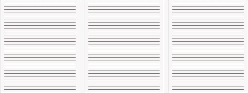 Lined Notetaking Paper – Lined Printing Paper