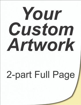 full page, bill of lading, 2 part, 8.5x11, 8.5 x 11, carbonless forms, carbonless form printing, custom carbonless forms, form printing