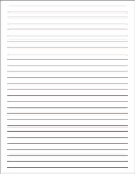 Elegant Lined Notetaking Paper, Lined Paper, Lined Writing Paper, White Lined Paper,  Notetaking