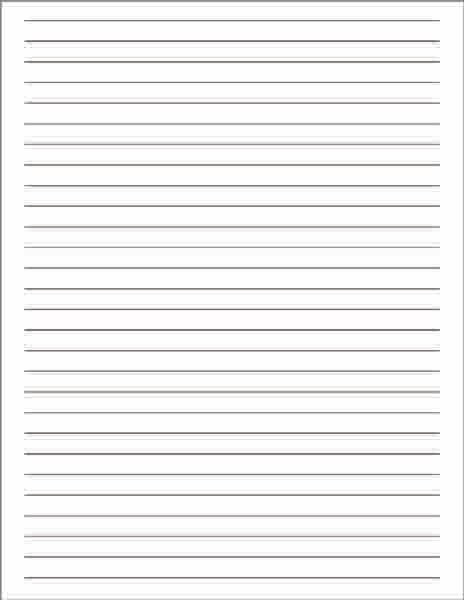 Lined Notetaking Paper, Lined Paper, Lined Writing Paper, White Lined Paper,  Notetaking  Line Paper