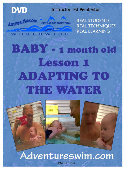 Infant (1 month) Introduction to water (DVD) - Lesson 1