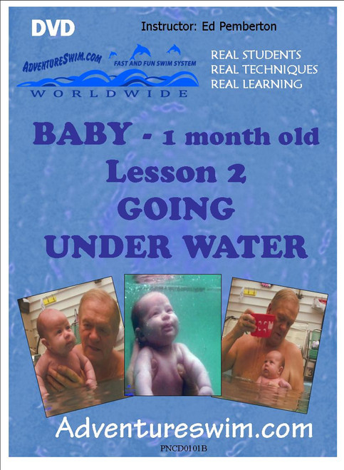 Infant (1 month) Introduction to water - Lesson 2