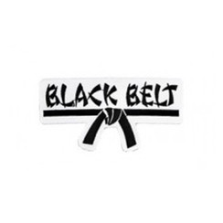 #1190 BLACK BELT PATCH