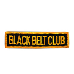 #1263 BLACK BELT CLUB GOLD  4""
